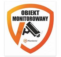 tabliczka CCTV obiekt monitorowany