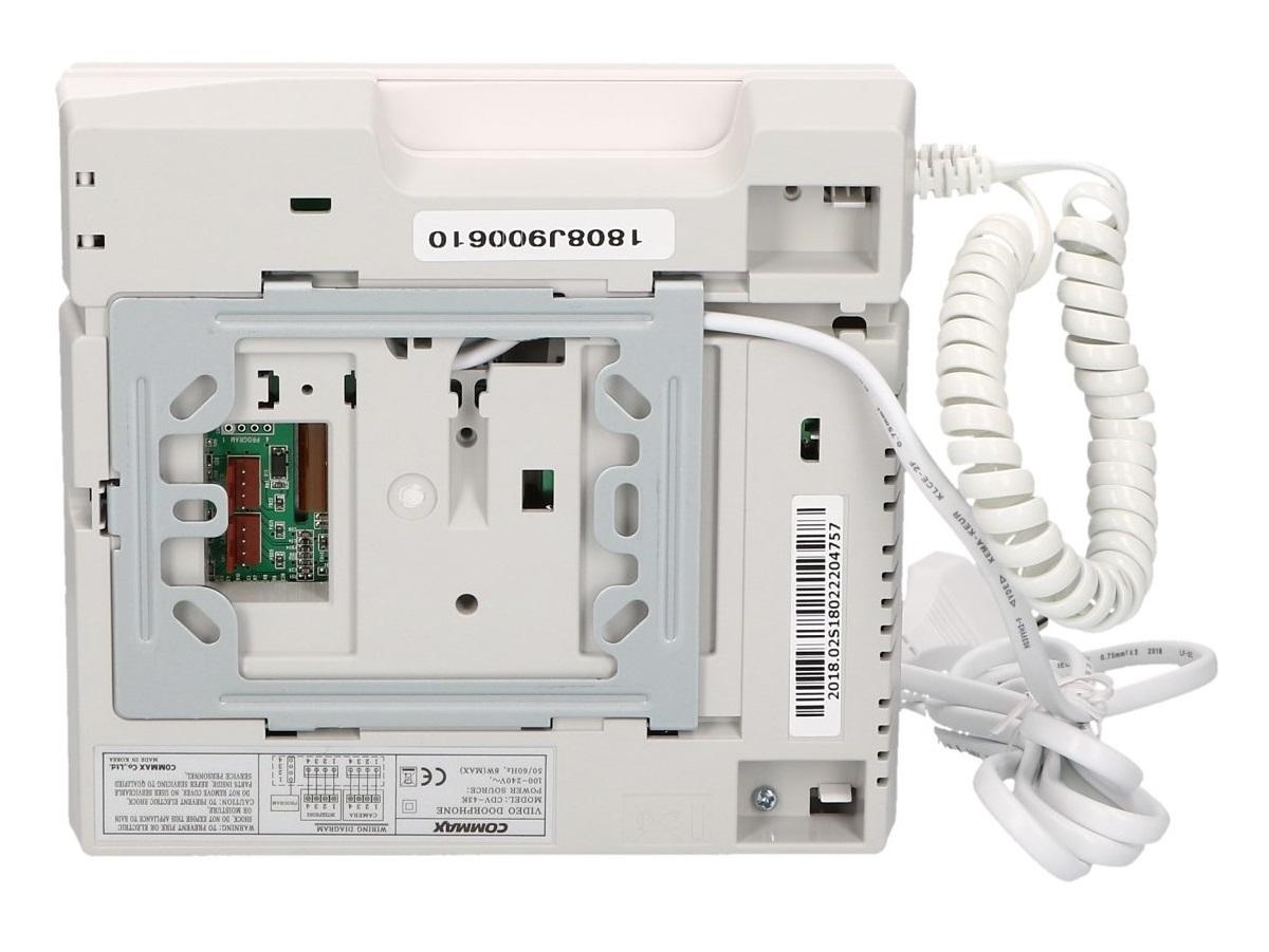 Tył monitora CDV-43K