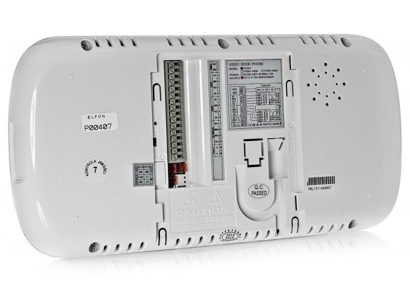 Tył monitora KW-E703FC-W