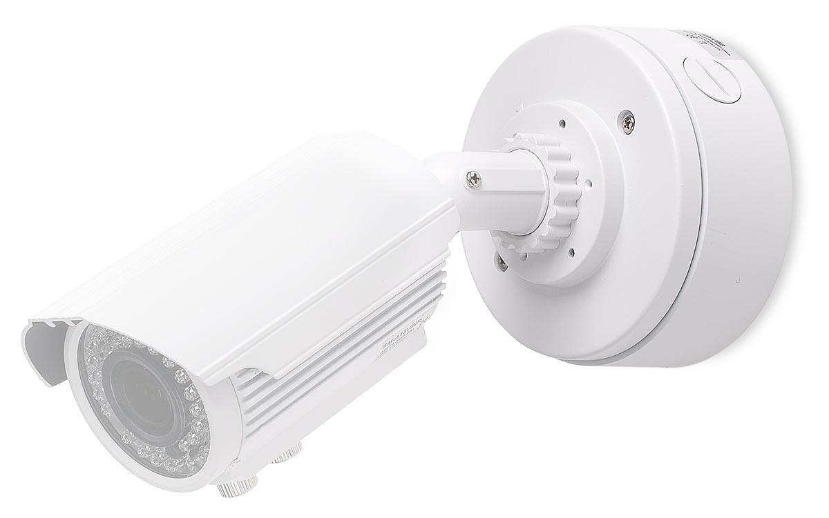 Kamera SM-A13VBIR przymocowana do uchwytu SM-VBB-B