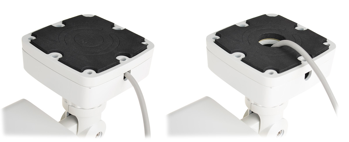 Przepust na przewód połączeniowy w kamerze BCS-THC7200IR3-B