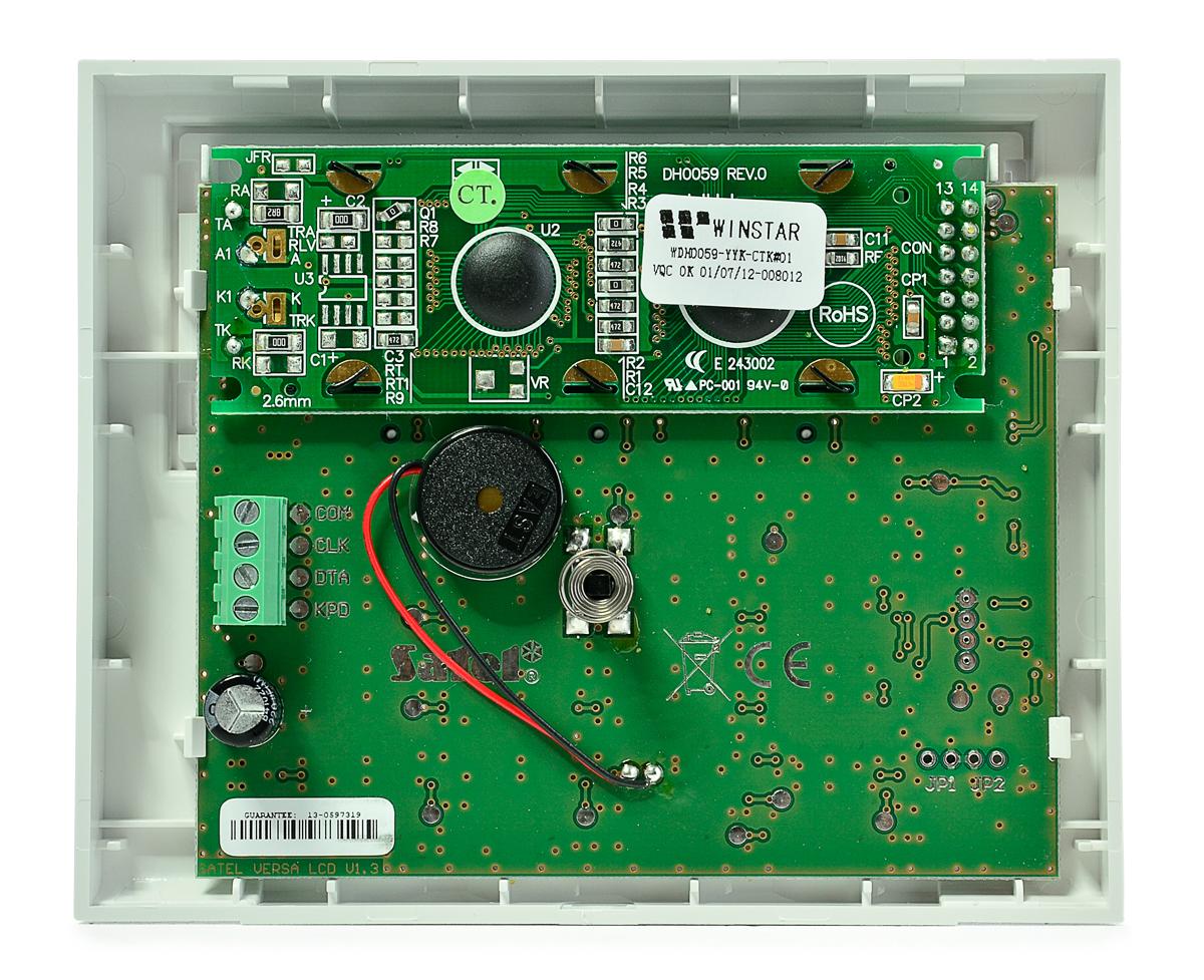 Wnętrze manipulatora VERSA-LCD-BL