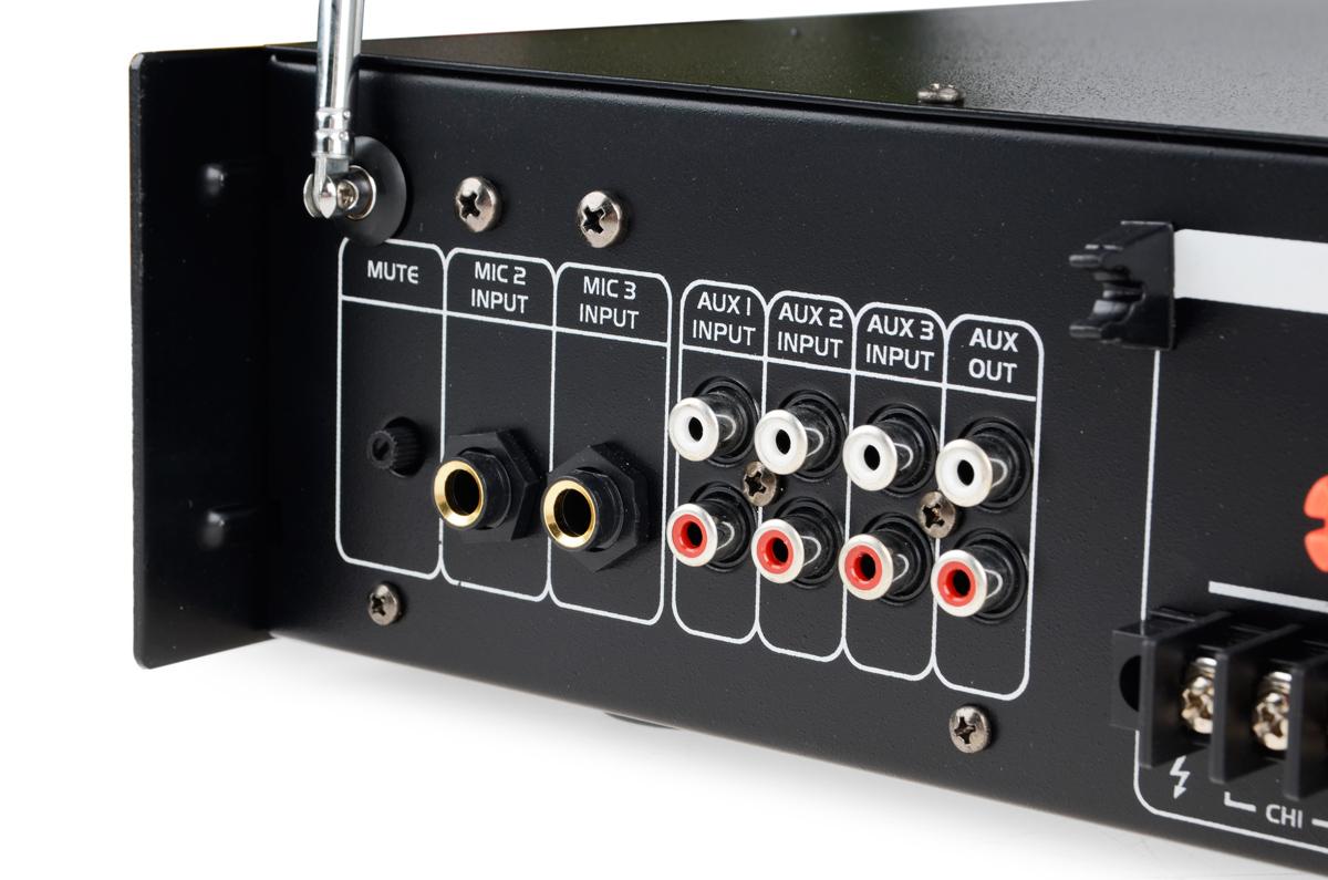 Wejścia audio wzmacniacza HQM2120BC