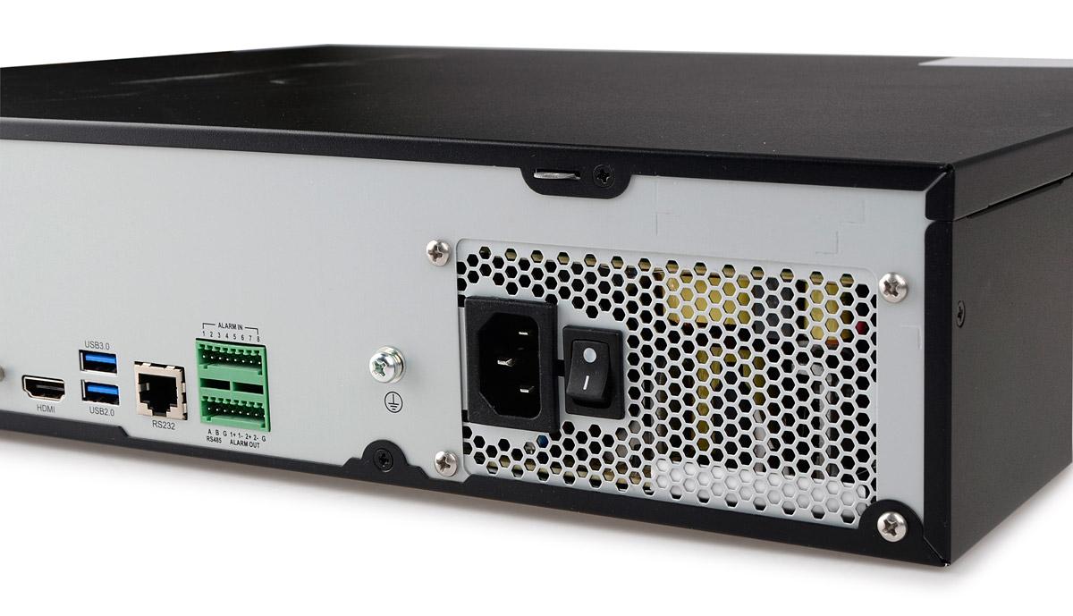 Wejście zasilania rejestratora BCS-PNVR3208