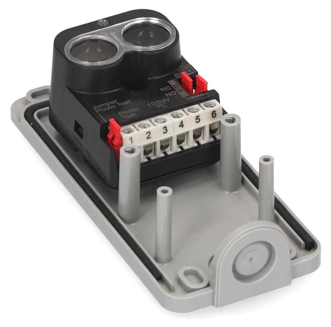 Rozkręcona fotokomórka EPMOR