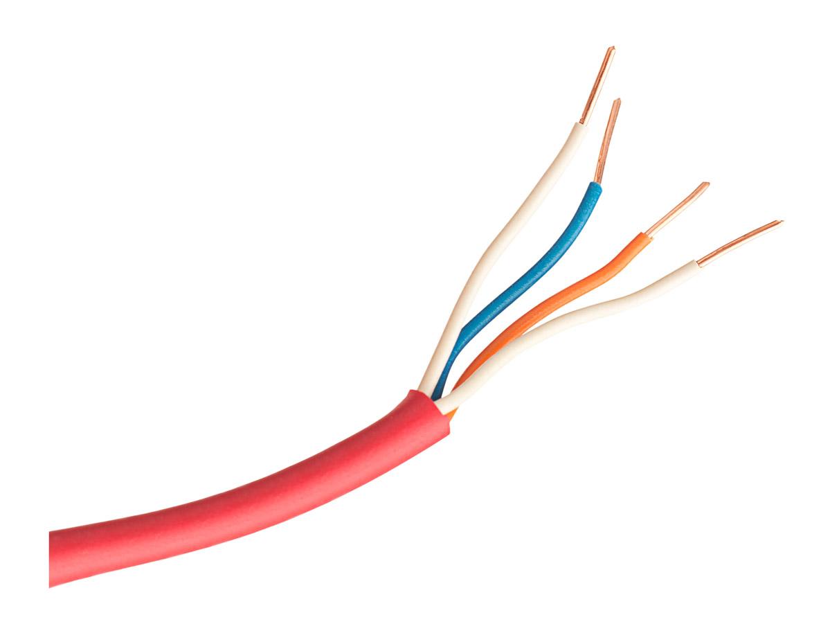 Wnętrze kabla YnTKSY 2x2x0.8mm