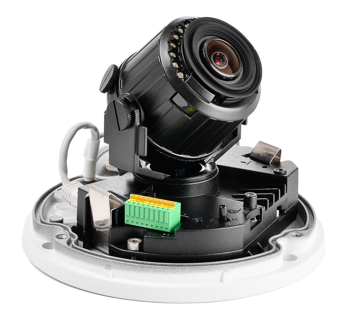 Wnętrze kamery BCS-DMIP5500AIR