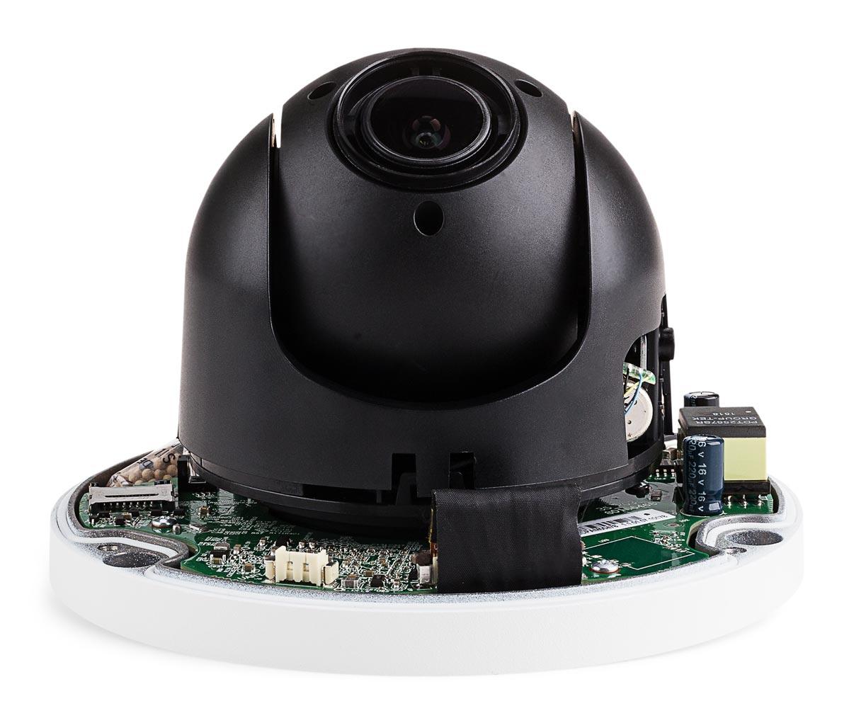 Kamera BCS-SDIP1204-W ze zdjętą kopułką