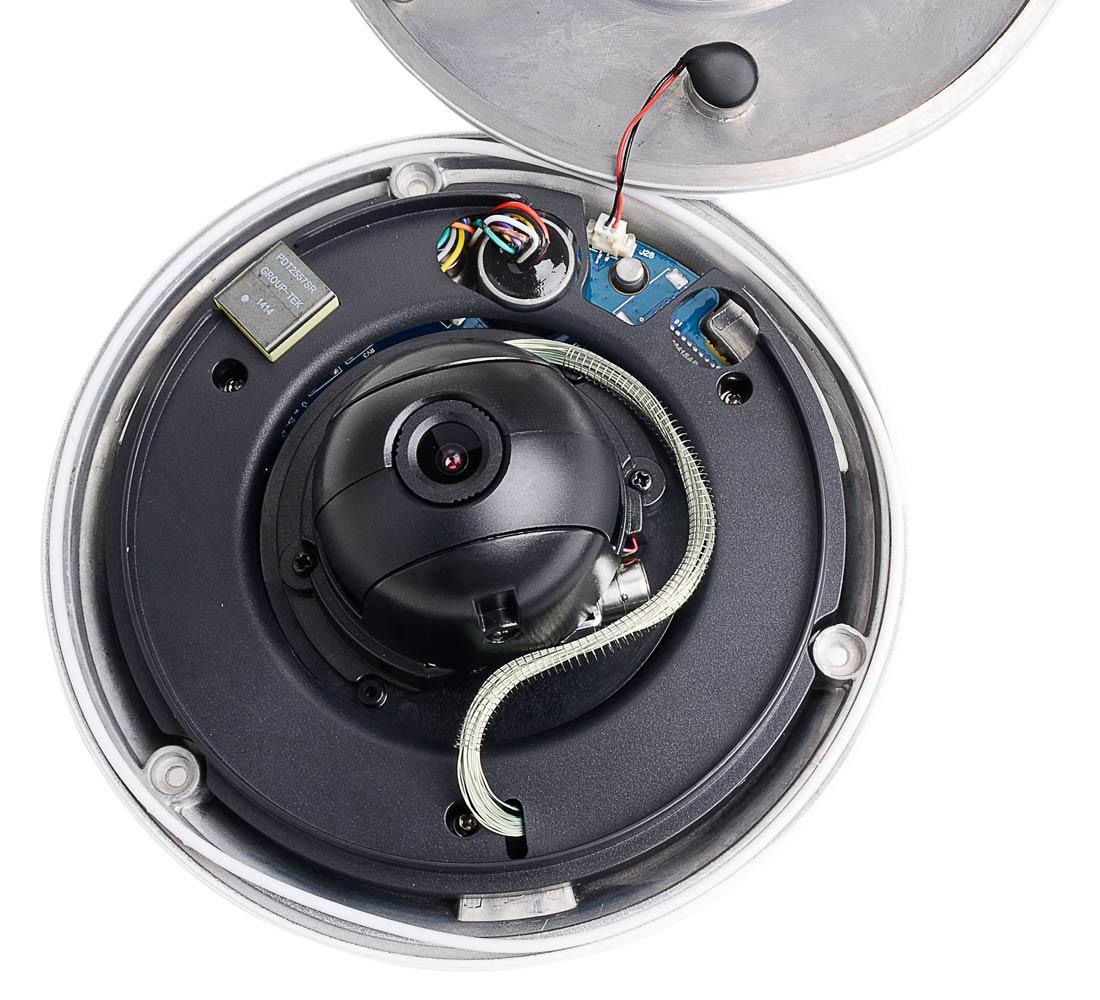 Wnętrze kamery obrotowej BCS-SDIP1300