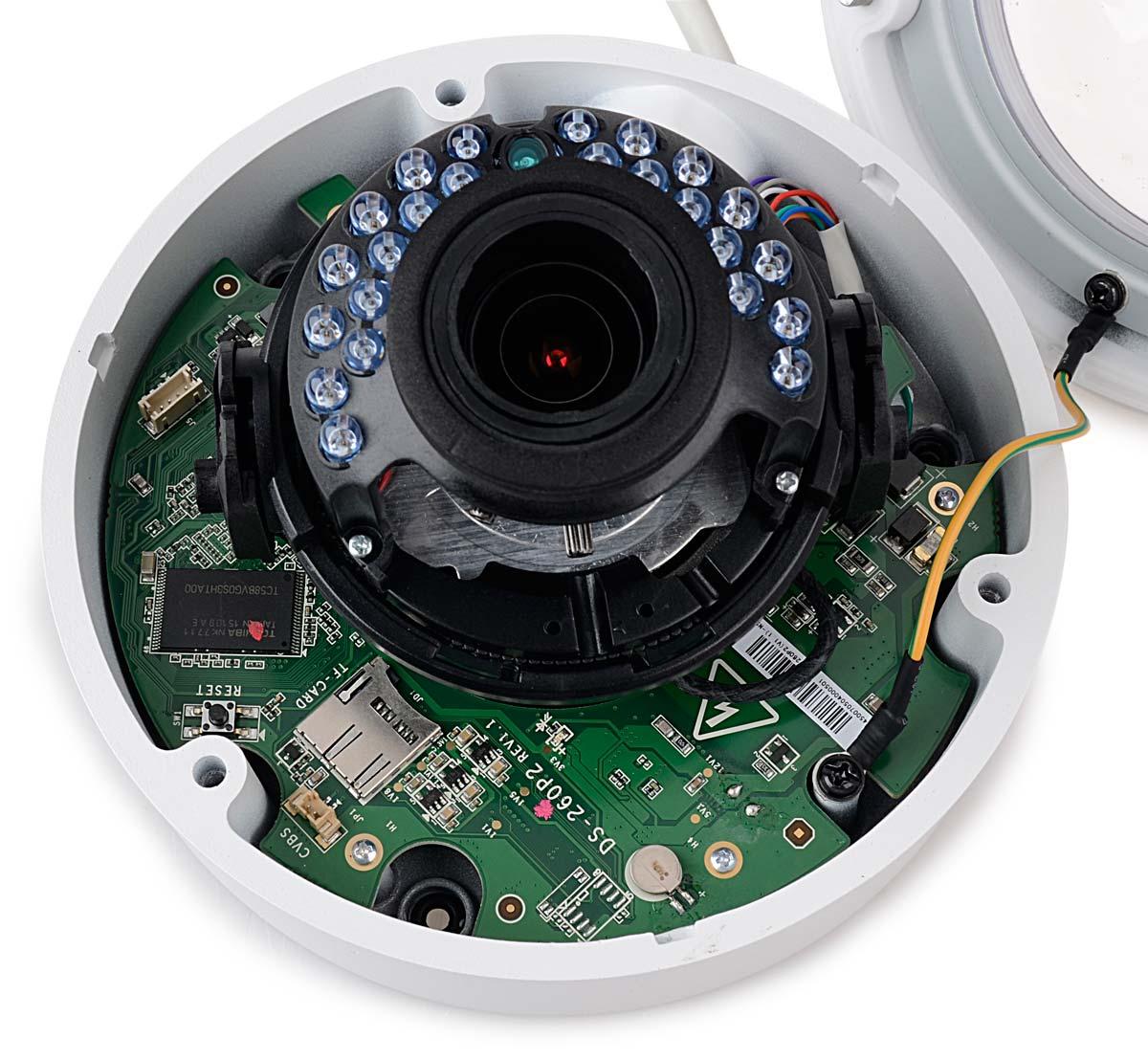 Wnętrze kamery DS-2CD2742FWD-I