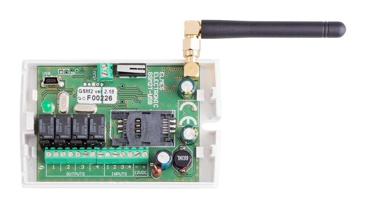 Wnętrze modułu GSM2
