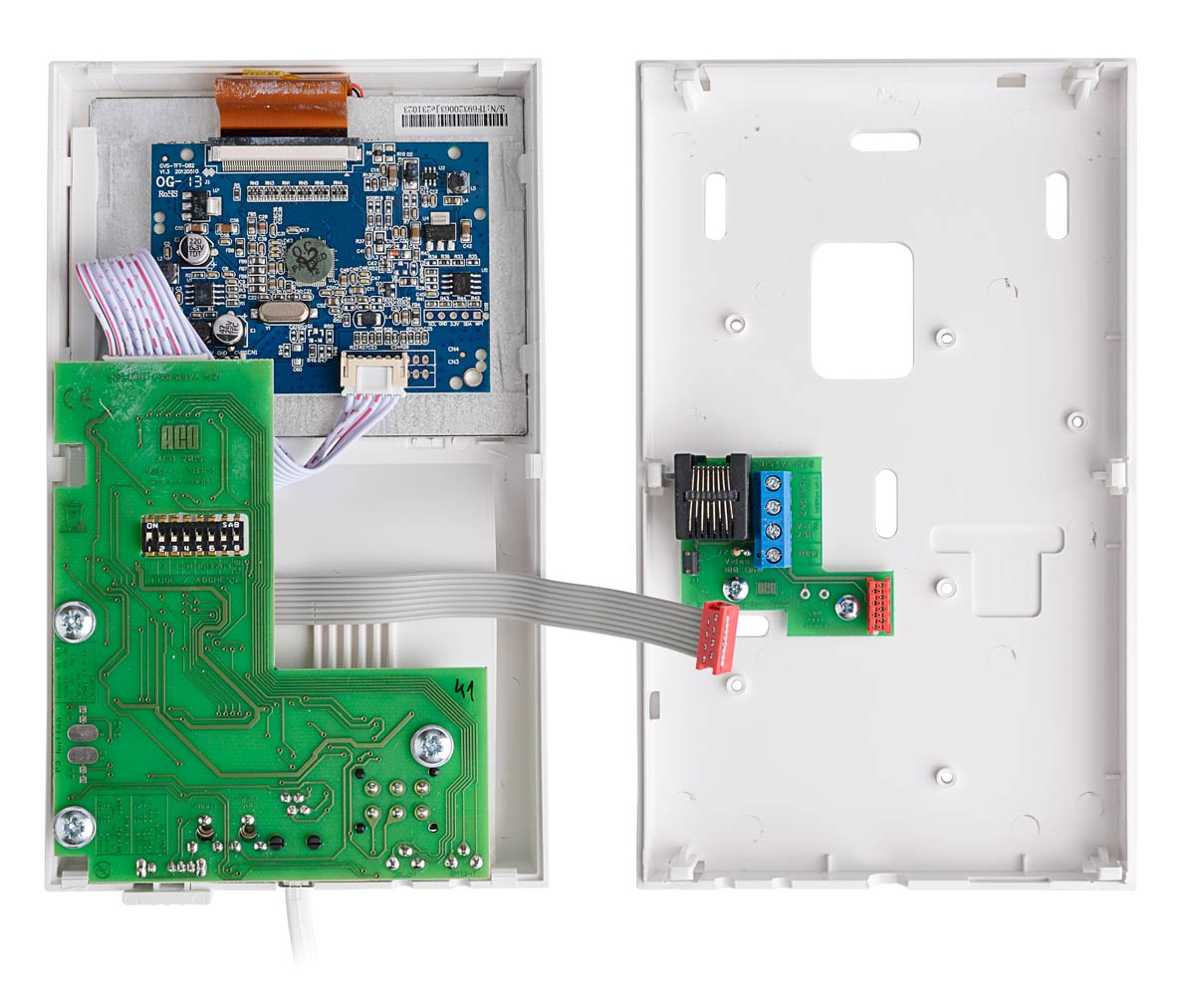 Wnętrze monitora INS-MPR4
