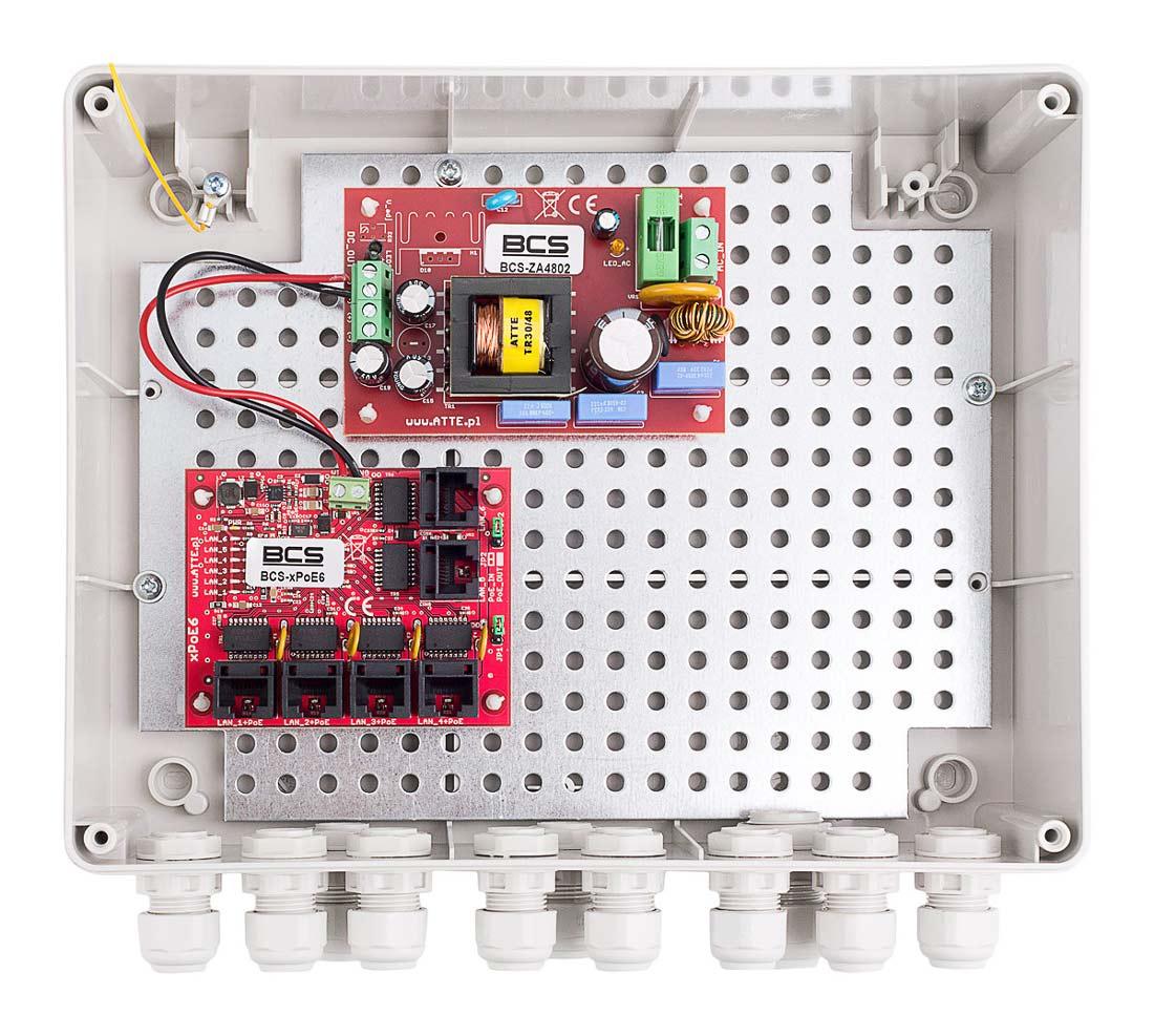 Wnętrze modelu BCS-IP4/Z/E-S