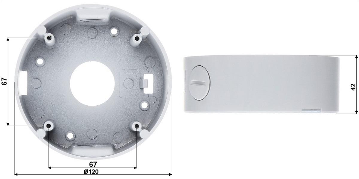 Wymiary obudowy BD-CV15W