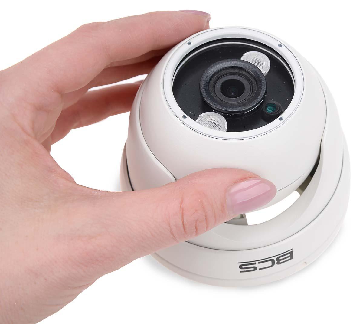Niewielkie wymiary kamery BCS-DMQE2200IR3-B