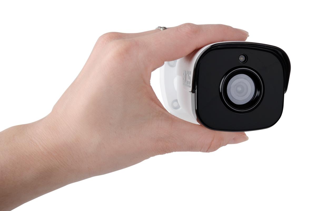 Niewielkie wymiary kamery BCS-P414RW