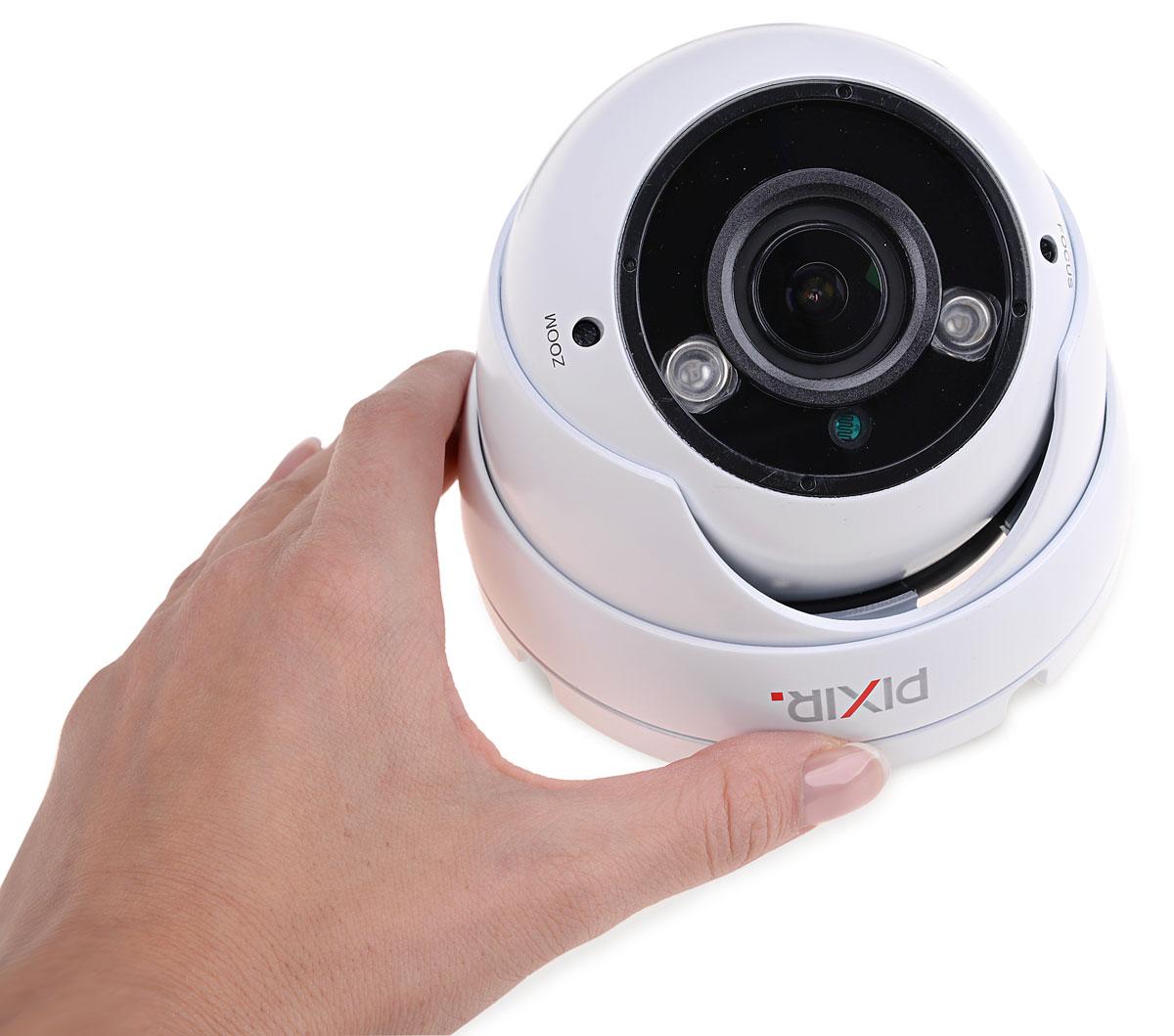 Niewielkie wymiary kamery PIX-Q20VDMIR3-W