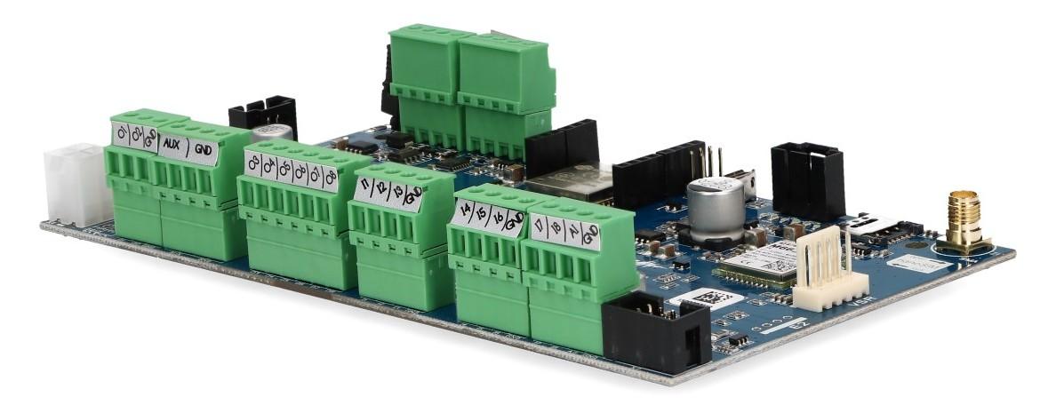 Zaciski centrali alarmowej NeoGSM-IP