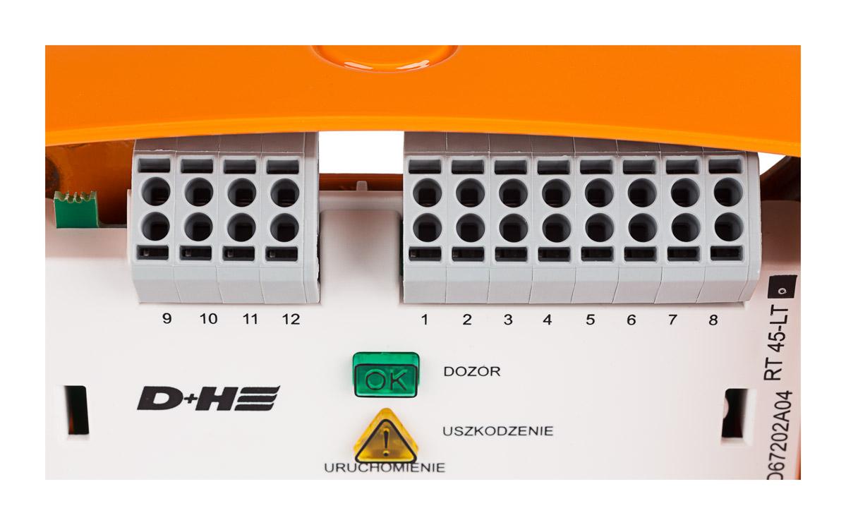 Zaciski przycisku RT45-LT