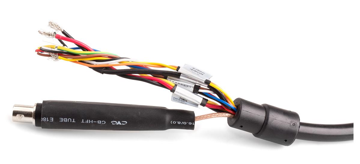 Zakończenie przewodu połączeniowego kamery DH-SD59212I-HC