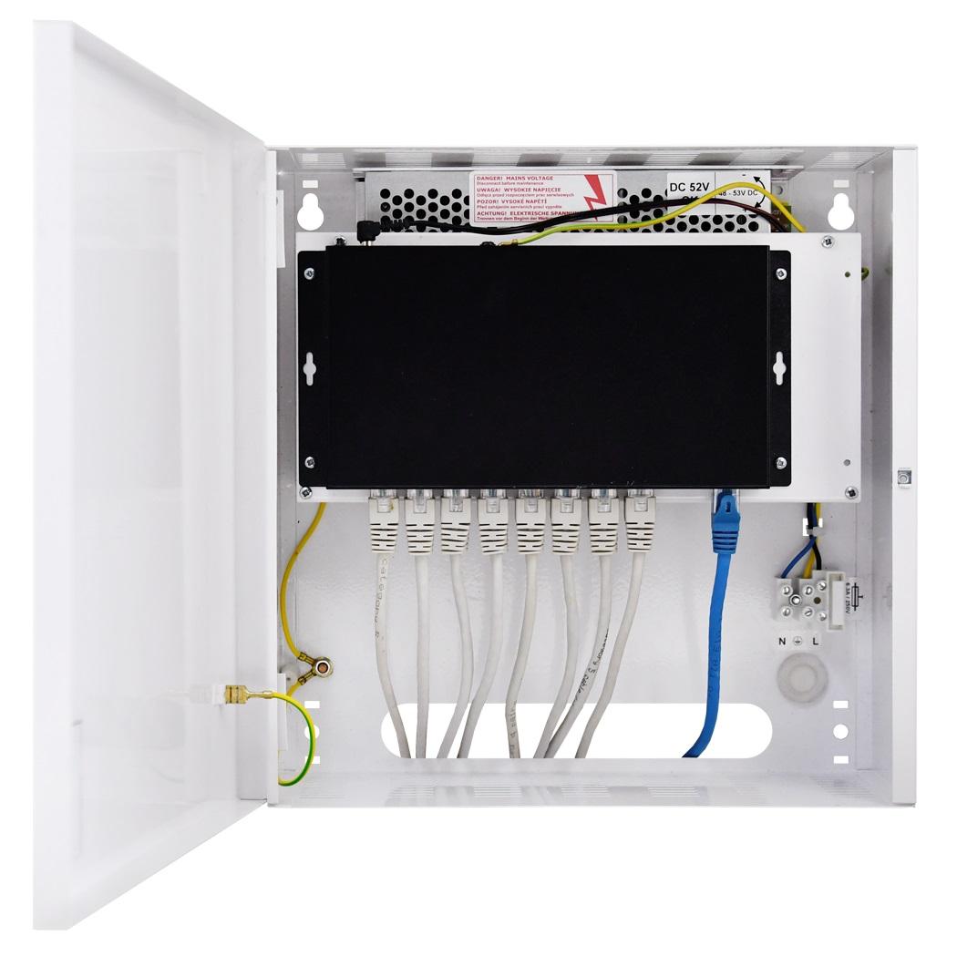 Przykładowe zastosowanie switcha S108-C