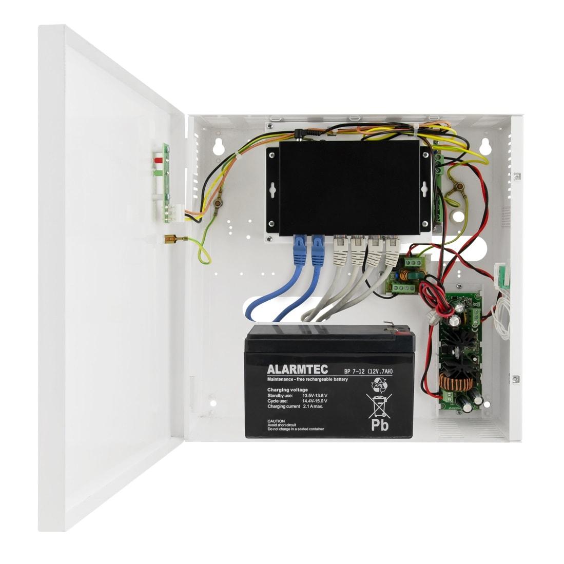 Przykładowe zastosowanie switcha PoE S64-B