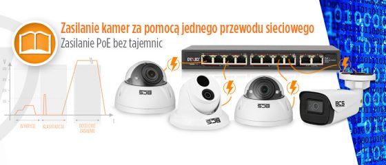 Zasilanie kamer IP, czyli jak działa PoE