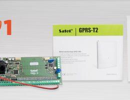 Podłączenie i konfiguracja modułu GPRS-T2 z centralą alarmową