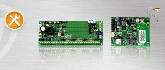 Podłączenie i konfiguracja modułu GSM LT-1 z centralą alarmową Satel