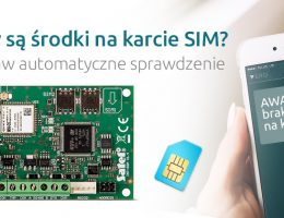 Artykuł: Automatyczne sprawdzanie środków na karcie SIM