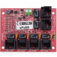 BCS-xPoE6 - Niezarządzalny switch PoE 4x48V
