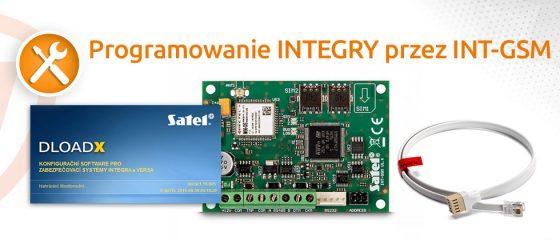 Programowanie integry przez INT-GSM