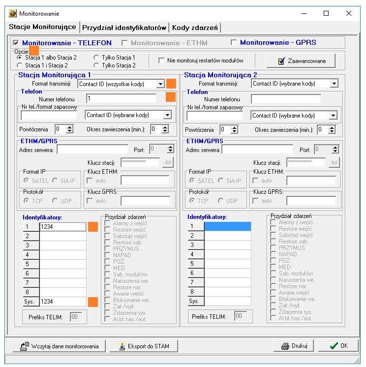 integra monitorowanie cid