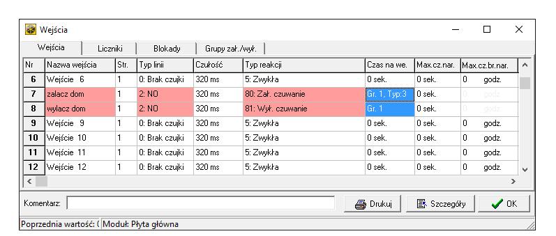 dloadx integra załączenie czuwanie tryby