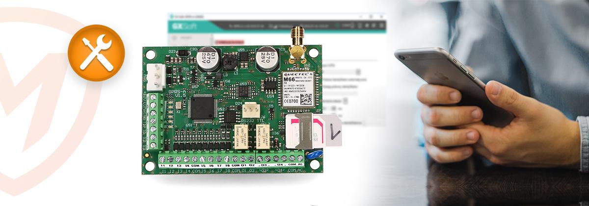 konfiguracja modułu GPRS-A
