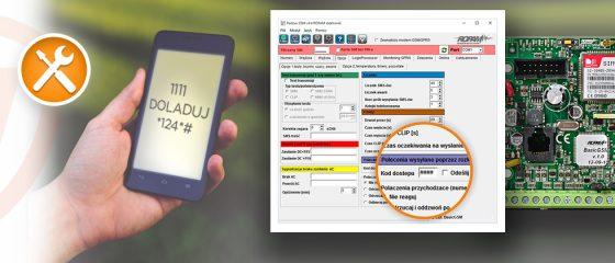 Jak sprawdzić stan konta karty SIM w alarmie?