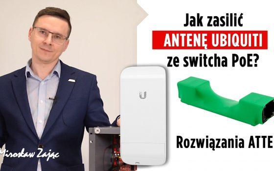 jak zasilić antenę ubiquity ze switcha poe