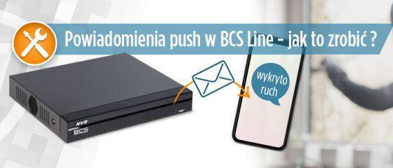 Realizacja powiadomień push w BCS Line