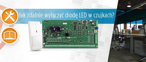 Artykuł dla instalatora: Jak zdalnie wyłączyć diodę LED w czujkach?