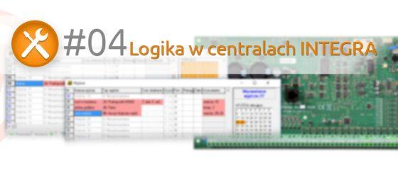 Logika w centralach INTEGRA