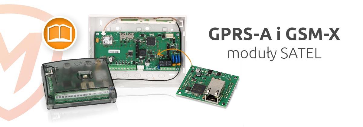Moduły SATEL: GPRS-A i GSM-X