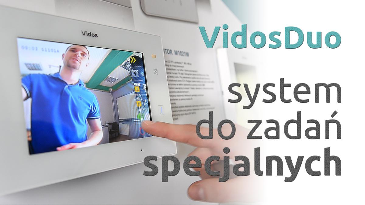 VidosDuo rozbudowany system video-domofonowy