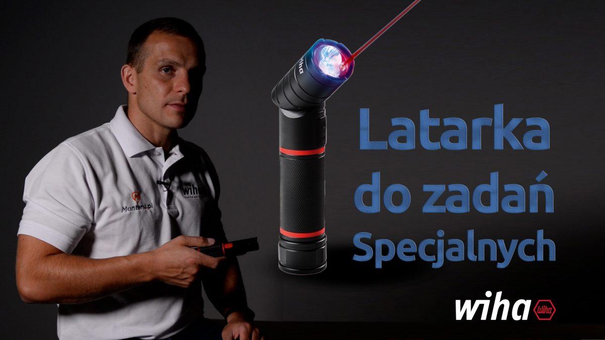 Latarka WIHA 41286 - Latarka z laserem,