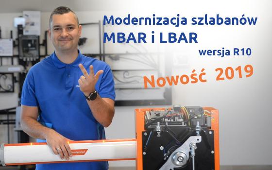 Modernizacja szlabanów MBAR i LBAR