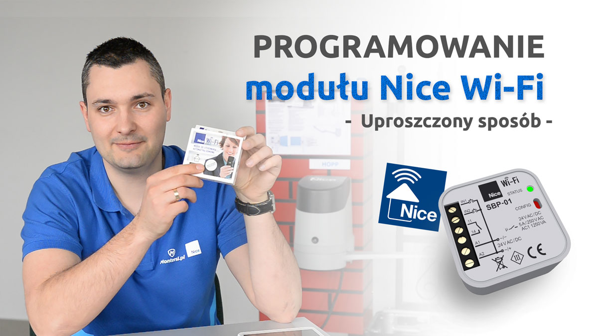 Programowanie modułu Nice Wi-Fi