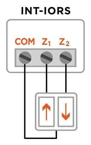 podłączenie przycisku int-iors