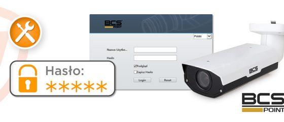 Reset hasła w urządzeniach BCS Point - część 2