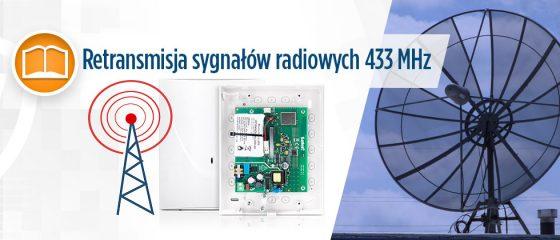 Artykuł o retransmisji sygnałów radiowych 433 MHz