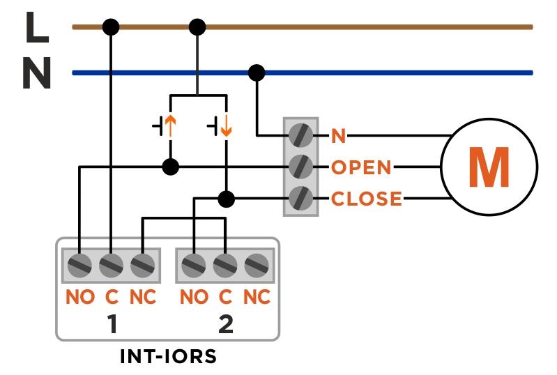 rolety przełącznik int-iors