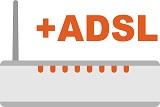Wymagany router z modułem ADSL